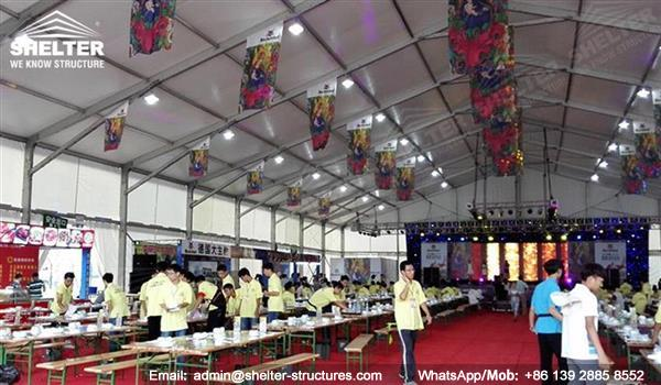Oktoberfest tent - marquee for bear festival - outdoor event marquees - custom design marquees - Shelter promotions tent for sale (4)