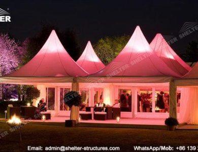 Outdoor Best Party Tent for Cheap Sale - garden tent - backyard party gazebo - high peak tent - raj tent (52)