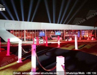 custom design thermo roof marquee - inflatable tents - canopy for promotion - aluminum pavilion for social events - outdoor wedding marquees (23)