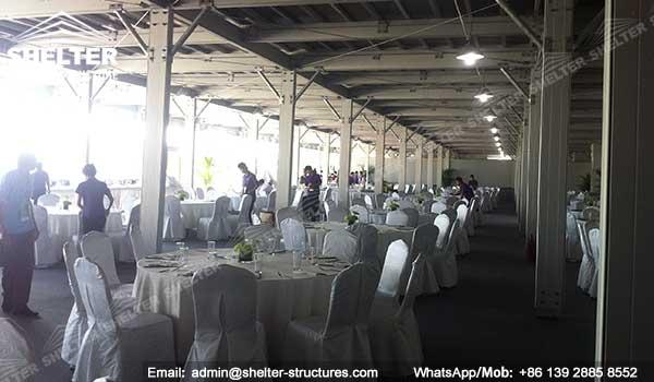 double decker strucutures - two floor workshop - twins storey lounge tent (37)