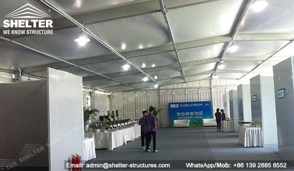 double decker strucutures - two floor workshop - twins storey lounge tent (38)