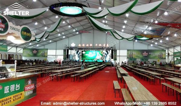 exhibition tent - tents for oktoberfest - marquee for beer festival - Shelter outdoor event marquees for sale (2)