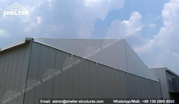 insulated warehouse structures - warehouse constructor - temporary building for industrial storage - logiticas warehouse - material warehousing (201)