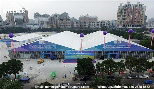 furniture exhibition and wholesale - large exhibition structures - temporary structures for trade show fair - car display - auto release (11)
