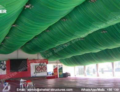 marquee for social events - large exhibition tents - tent canopy for exposition - musical festival pavilion - canvas for fari carnival (26)