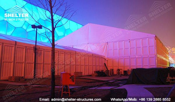 marquee for social events - large exhibition tents - tent canopy for exposition - musical festival pavilion - canvas for fari carnival (33dfgdg)