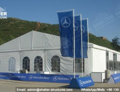 marquee for social events - large exhibition tents - tent canopy for exposition - musical festival pavilion - tent for car show tour (04)