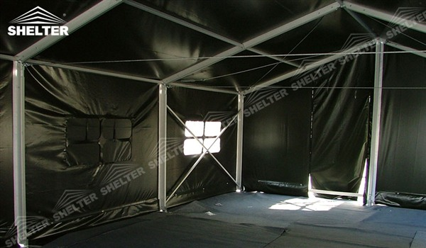 military clinic - temporary medical station - army base camp - tent camp - tent warehouse (1)