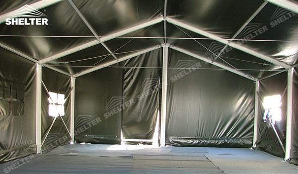military clinic - temporary medical station - army base camp - tent camp - tent warehouse (4)