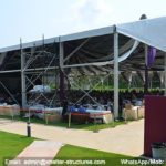pool side party - wedding marquee - pavilion for luxury wedding ceremony - canopy for outdoor party - wedding on seaside - in hotel - Shelter aluminum structures for sale (000017)