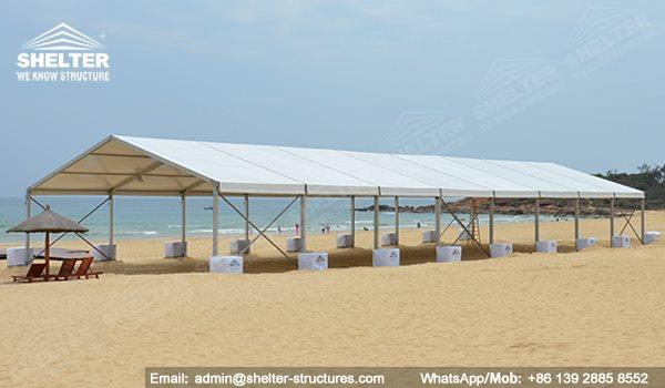 seaside wedding - beach ceremony - pool side party - wedding marquee - pavilion for luxury wedding ceremony - canopy for outdoor party - wedding on seaside - in hotel - Shelter aluminum structures for sale (17)