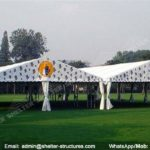 small marquee - tents canopy for outdoor show - fashion show structure - pavilion for lawn party - shed for outdoor weddings - aluminum canvas for grass wedding ceremony (3)