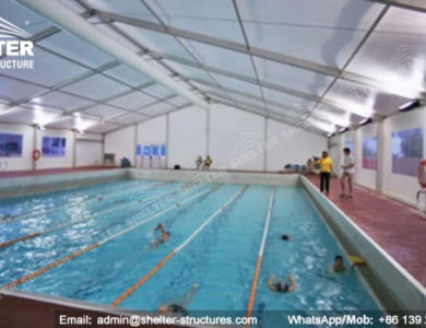 sports structures - indoor swimming pool - court shed - tennis tent - canopy for horse riding - horse loading tent - gym structures idea - sports staidum cover (16)