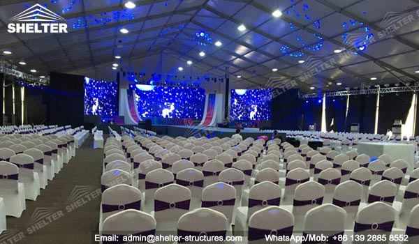 tents for beauty events - fashion show - event tent for 300 people (14)