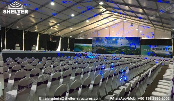 tents for beauty events - fashion show - event tent for 300 people (15)