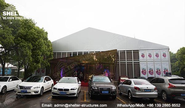 wedding marquee - pavilion for luxury wedding ceremony - canopy for outdoor party - wedding on seaside - in hotel - Shelter aluminum structures for sale (289)