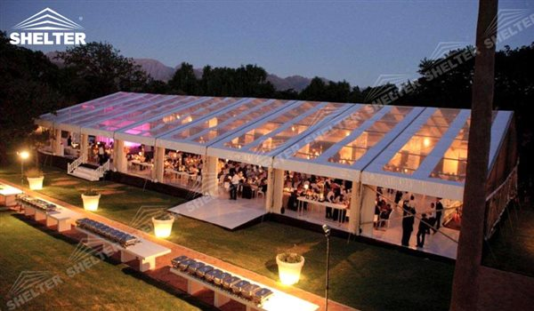 wedding marquee - pavilion for luxury wedding ceremony - canopy for outdoor party - wedding on seaside - in hotel - Shelter aluminum structures for sale (292)