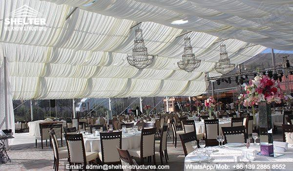 wedding marquee - pavilion for luxury wedding ceremony - canopy for outdoor party - wedding on & Best Large Transparent Wall Wedding Tent | Large Marquee Tents China