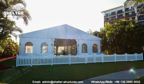 wedding marquee - pavilion for luxury wedding ceremony - canopy for outdoor party - wedding on seaside - in hotel - Shelter aluminum structures for sale (4154)_Jc