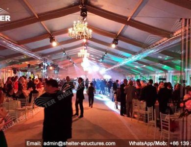 wedding marquee - pavilion for luxury wedding ceremony - canopy for outdoor party - wedding on seaside - in hotel - Shelter aluminum structures for sale (61)