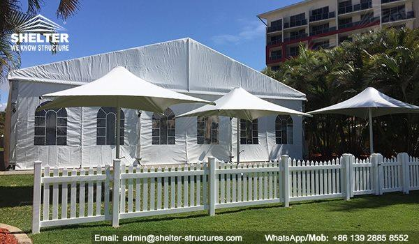wedding marquee - pavilion for luxury wedding ceremony - canopy for outdoor party - wedding on seaside - in hotel - Shelter aluminum structures for sale (6448)_Jc